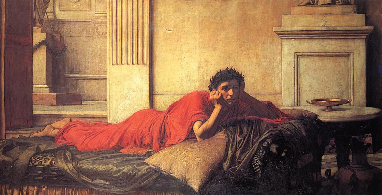The Remorse of Nero After the Murder of His Mother, 1878